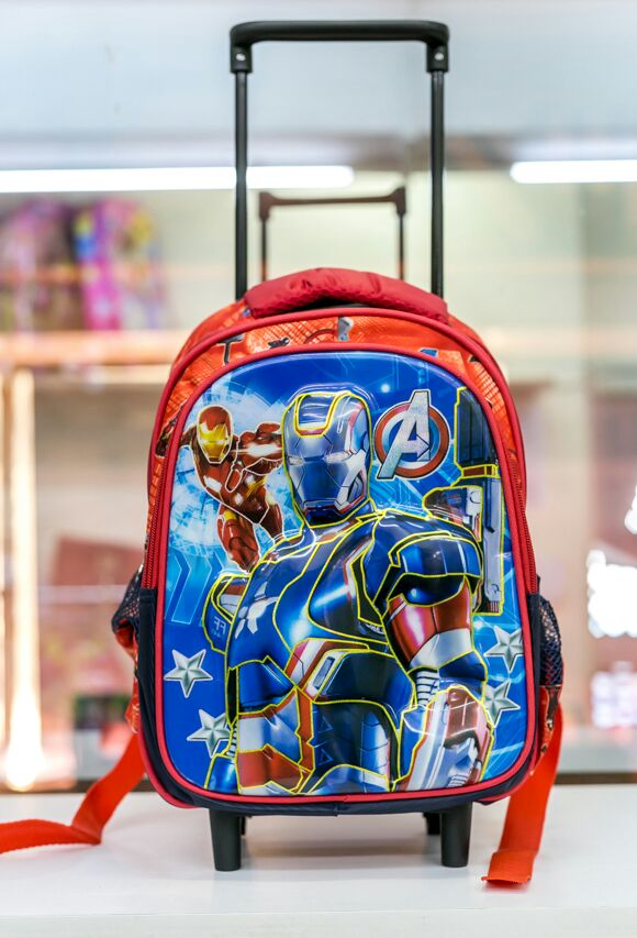 ironman preschool trolley