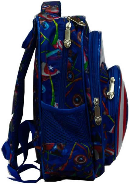 Captain American 3D Backpack Bag