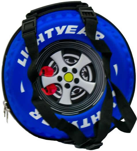 Mcqueen 3D Accessories Bag Blue Theme