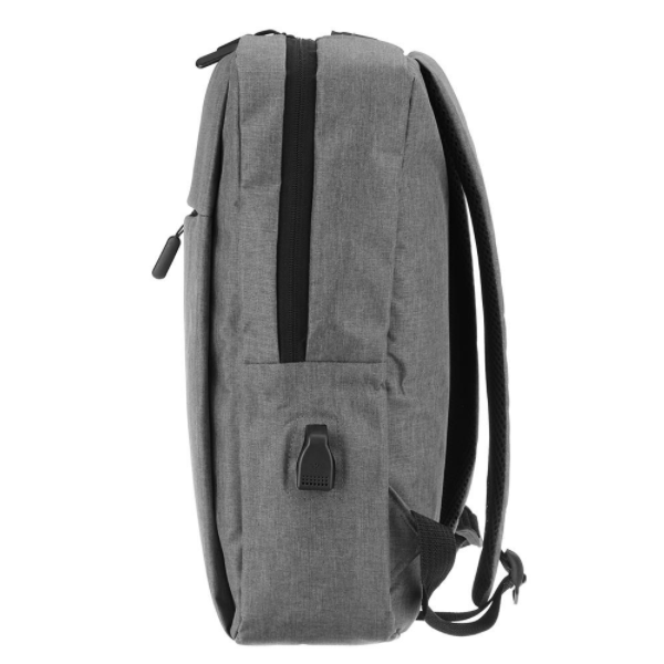 Classic Backpack Single Padded Grey