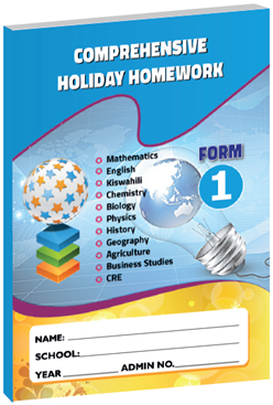 Comprehensive Holiday Homework Form1