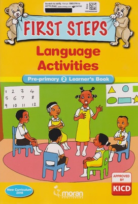 Moran First Steps Language PP2 Learner's Book (Approved)