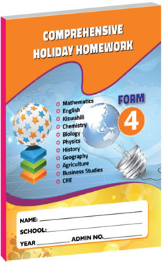 Comprehensive Holiday Homework Form 4