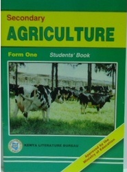Secondary Agriculture Form 1 KLB