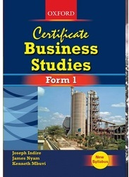 Certificate Business Studies Form 1