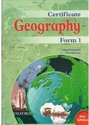 Certificate Geography Form 1