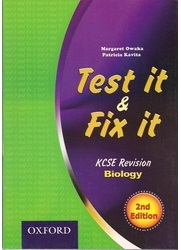 Test It And Fix It KCSE Revision Biology