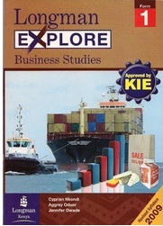 Longman Explore Business Studies Form 1