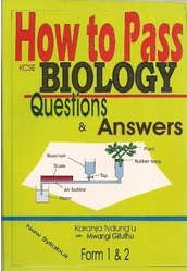How To Pass Biology Form 1,2