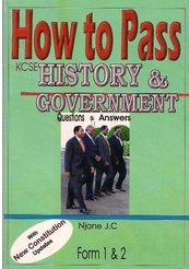How To Pass History And Government Form 1,2