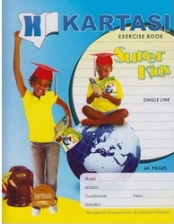 Exercise Book Kartasi A5 Ruled 64 Pages