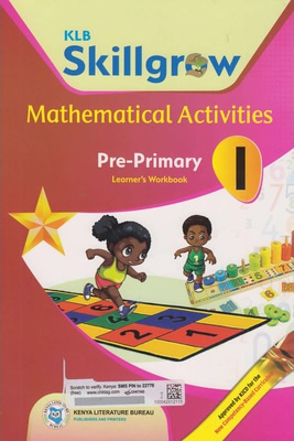 KLB Skillgrow Mathematical activities Pre-primary Workbook 1