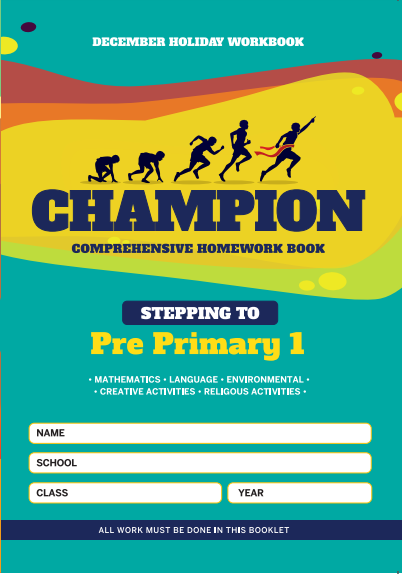Stepping to PP1 Champion Homework Book  PlayGroup December