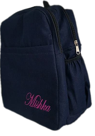 Boarding School Bag with name print