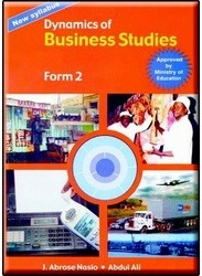 Dynamic Of Business Studies Form 2