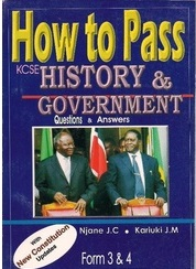 How To Pass History And Government Form 3,4