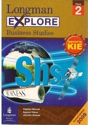 Longman Explore Business Studies Form 2