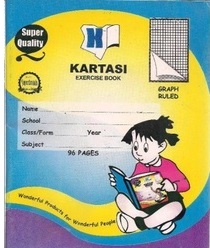 Exercise Book Kartasi A4 Graph 96 Pages