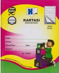 Exercise Book Kartasi A5 Irish 96 Pages