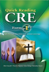 Quick Reading C.R.E Form 1