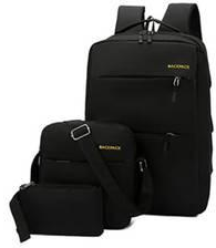 Backpack 3in1 Business Casual Black