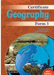 Certificate Geography Form 3