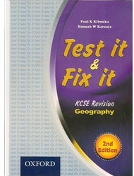 Test It And Fix It KCSE Revision Geography