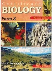 Certificate Biology Form 3 EAEP