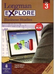 Longman Explore Business Studies Form 3