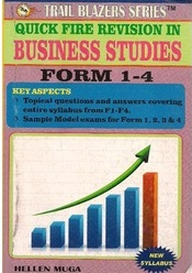 Trail Blazers Combined Business Studies Form 1-4