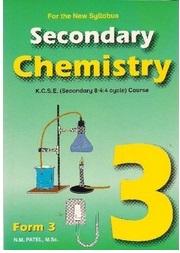 Chemistry Form  3