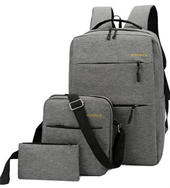 Backpack 3in1 Business Casual Grey