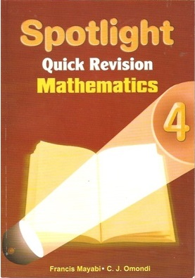 Spotlight Quick Revision Mathematics Std 4