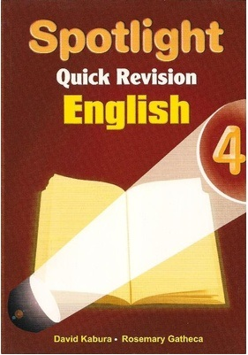 Spotlight Quick Revision English Std 4