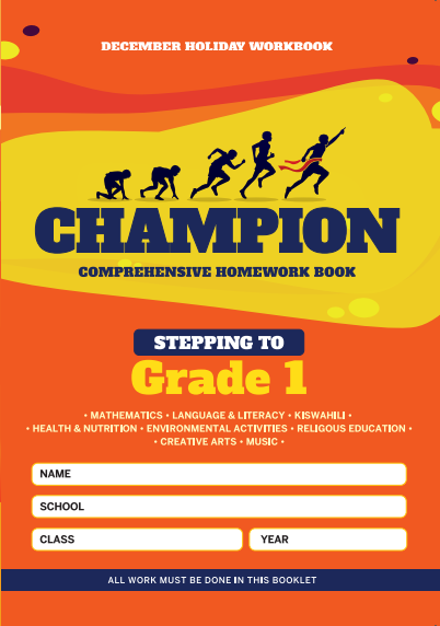 Stepping to  Grade1 Champion Homework Book PP2 December