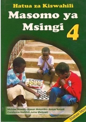 Masomo Ya Msingi Darasa La 4