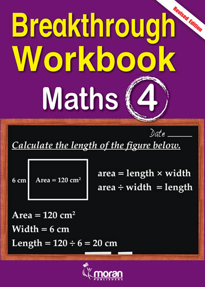 Breakthrough Workbook Mathematics Std 4