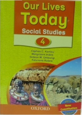 Our Lives Today Social Studies Std 4