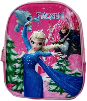Frozen Pink Elsa 3D Bag for preschool