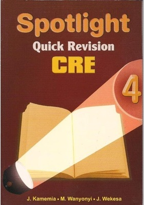 Spotlight Quick Revision CRE Std 4
