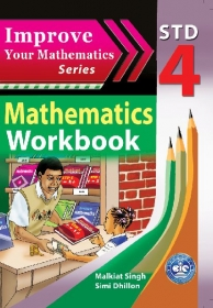Improve your Mathematics Workbook Std 4