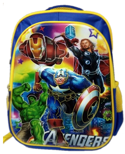 Avengers 3D backpack for primary