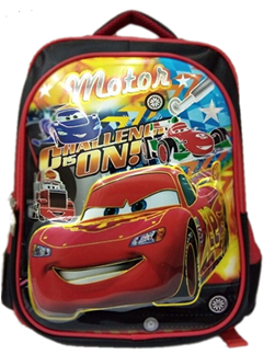 Lightning Mcqueen 3D backpack for primary