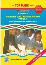 Topmark KCSE Revision History And Government Paper 1