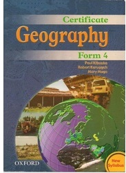 Certificate Geography Form 4
