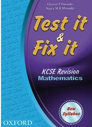 Test It And Fix It KCSE Revision Maths