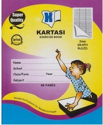 Kartasi Graph Book A5 48 Pages