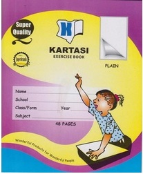 Exercise Book Kartasi A5 Plain 48 pages