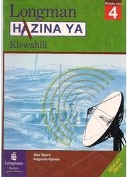 Hazina Ya Kiswahil Kidato Cha 4