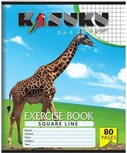 Exercise Book Kasuku A5 Squared 80 pages